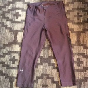 NEW Under Armour dusty purple yoga pants/leggings